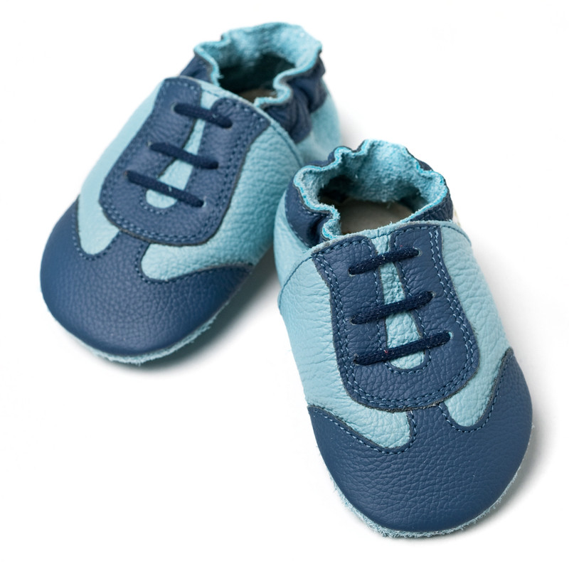 Calzado de suela blanda - Blue Sport -
