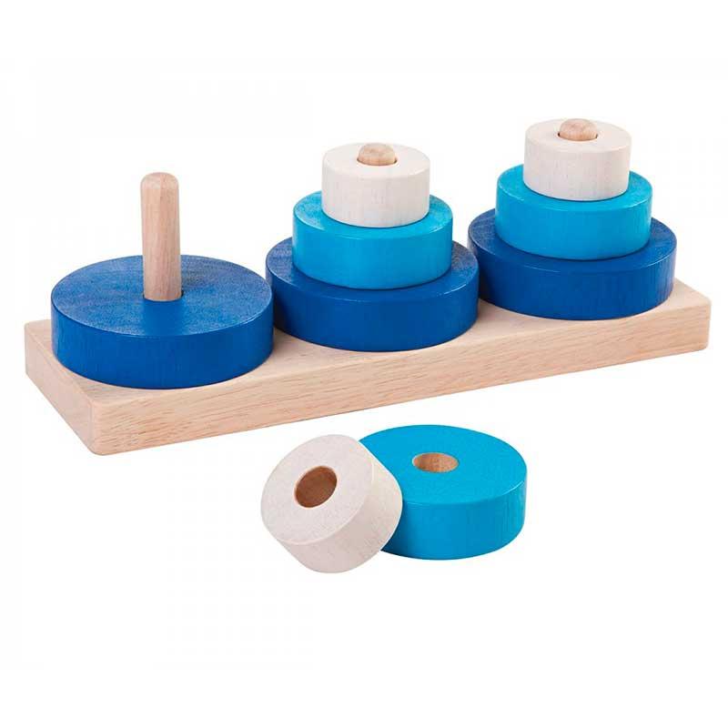 Trio de Apilar Plan Toys