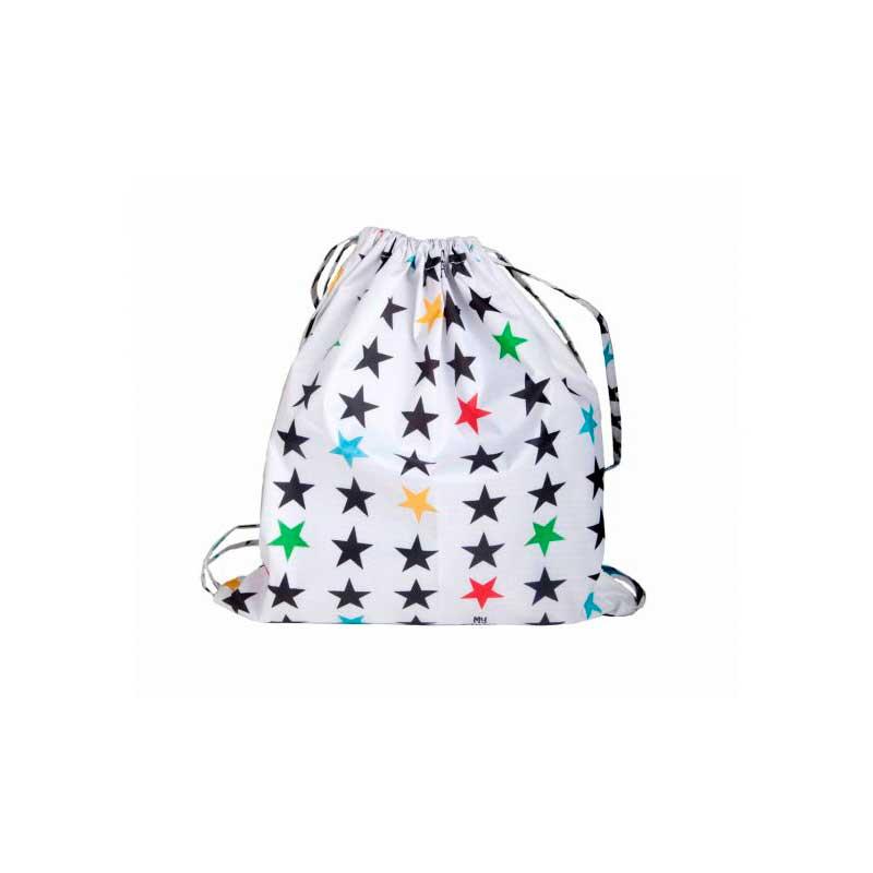 Mochila grande Stars White