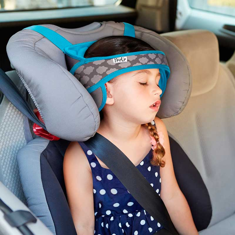 NapUp. Sujetacabezas para silla del coche - Azul -