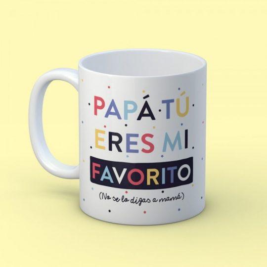 Taza 'Papá eres mi favorito'