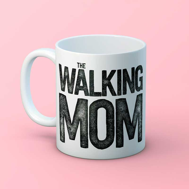 Taza 'Walking Mom'