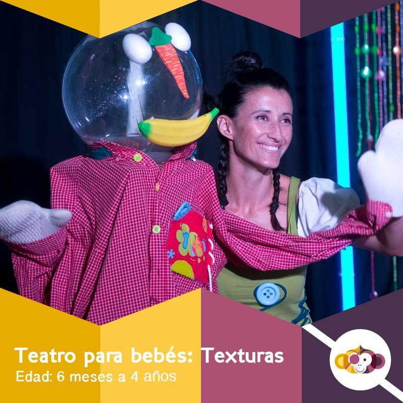 Texturas - Teatro para bebés y niños pequeños