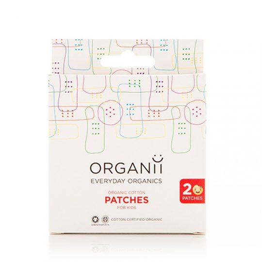 Tiritas Algodón Orgánico Organii - 20 ud.-