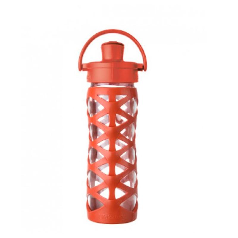 Botella 470 ml Lifefactory Active Cap Golden Gate