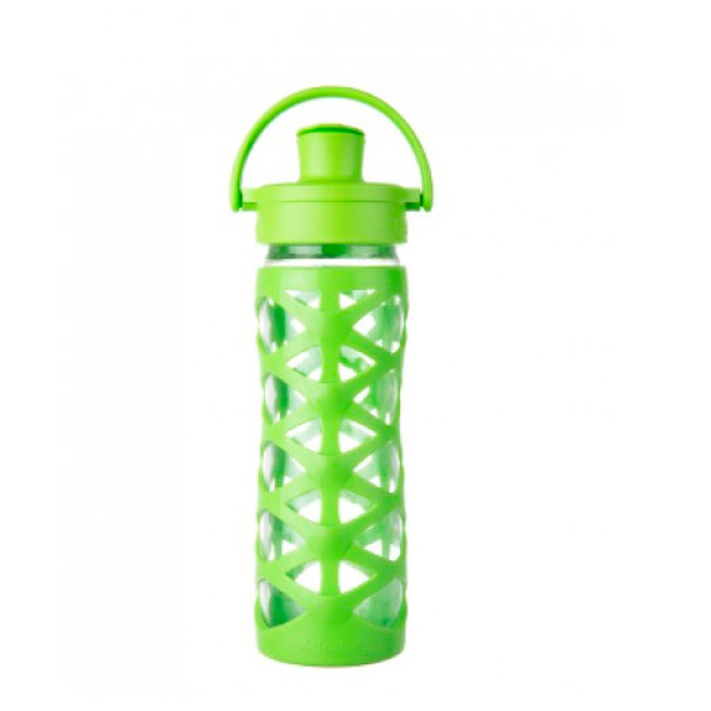 Botella 470 ml Lifefactory Active Cap Lime
