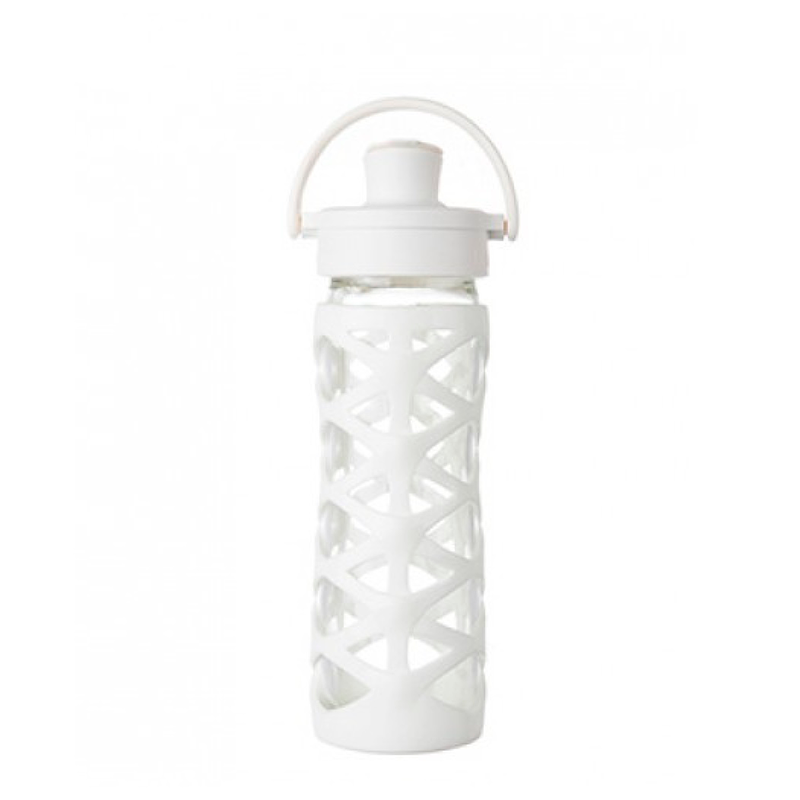 Botella 470 ml Lifefactory Active Cap White