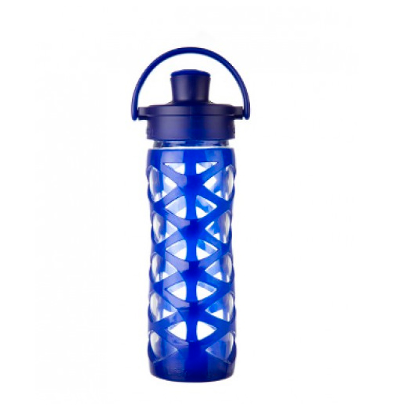 Botella 470 ml Lifefactory Active Cap Sapphire