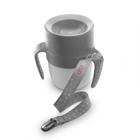Vaso Baby LiteCup (con luz Led) - Gris -
