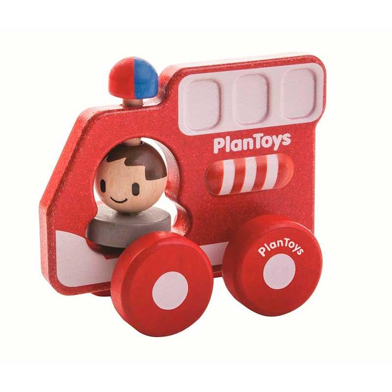 Vehículo transporte PlanToys - Camión de bomberos -