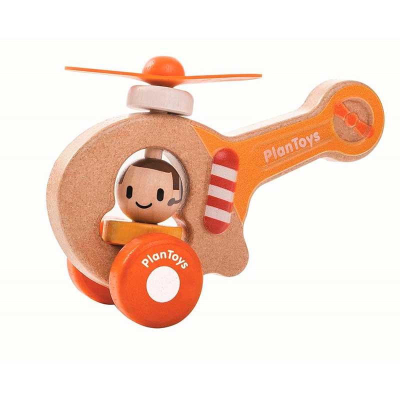 Vehículo transporte PlanToys - Helicóptero -