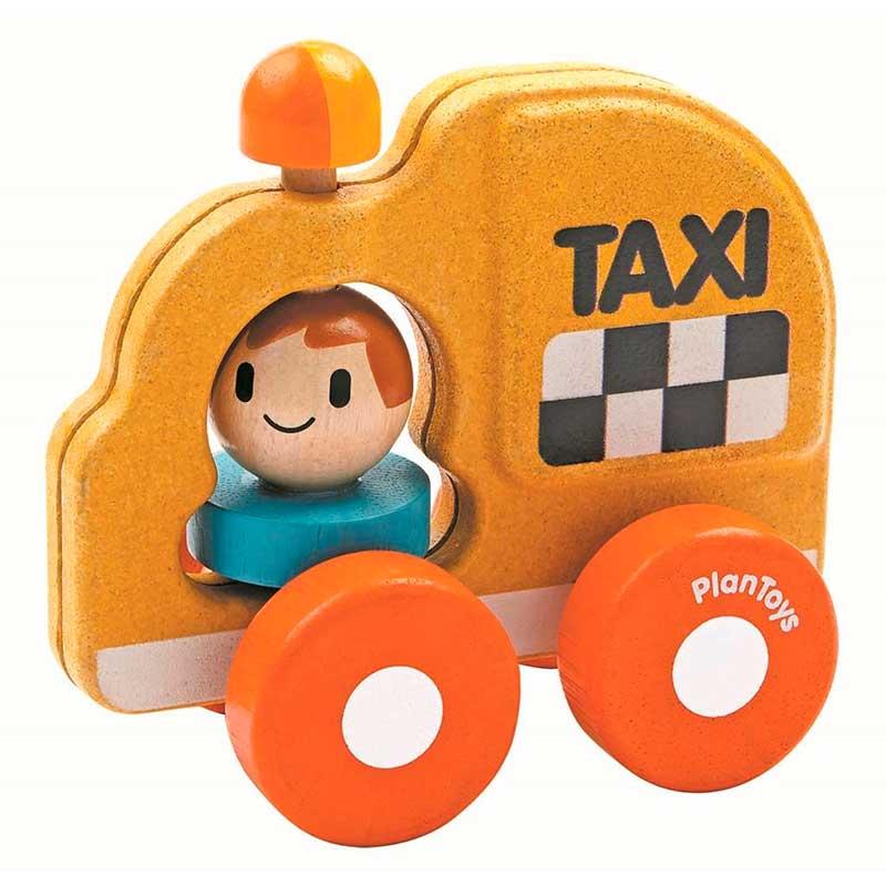 Vehículo transporte PlanToys - Taxi -