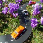 Carretera flexible de caucho Way To Play - 16 piezas -